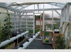 DIY Fully Automated Hydroponic Greenhouse Garden Culture