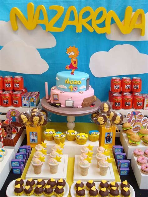 foto de The Simpsons Birthday Party Ideas Birthdays Happy and