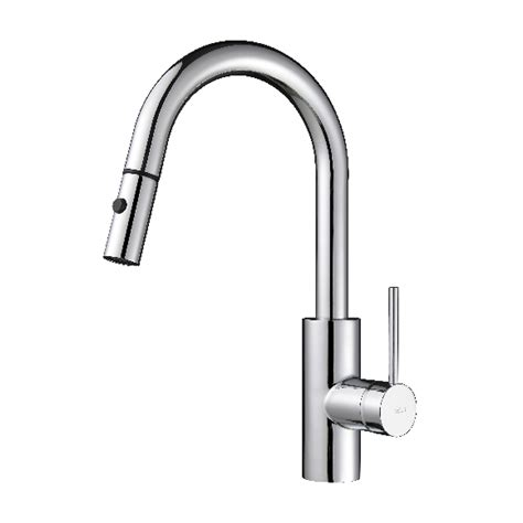 kitchen pull faucets kraus kpf 2620 mateo single lever pull kitchen faucet
