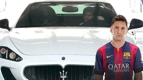 cars  belong  football star lionel messi uae