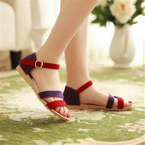 jual sepatu sandal jepit lucu sancu flat shoes