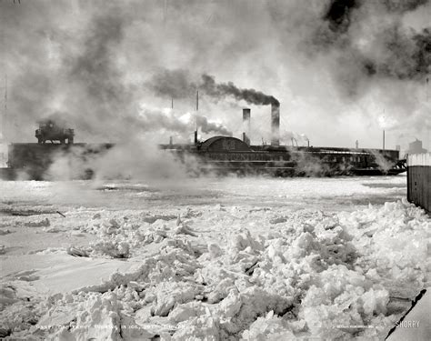 Shorpy Historic Picture Archive :: Fire and Ice: 1900 high ...