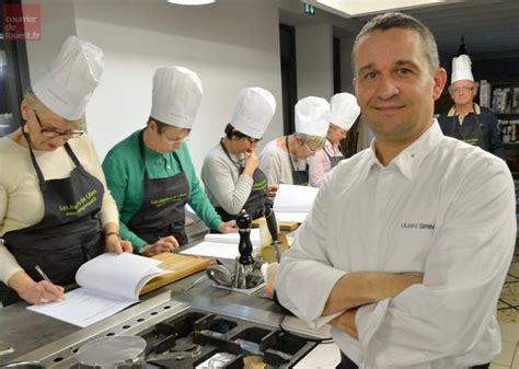 cours cuisine angers cholet la recette du chef lilian grimaud le foie gras