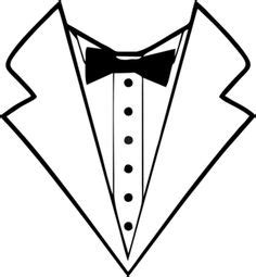 Tuxedo T Shirt Template by Tuxedo Bow Tie Instant For Cutting By Bibberberry