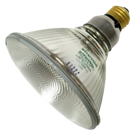 sylvania light bulb sylvania 16737 60par38hal s sp10 par38 halogen light