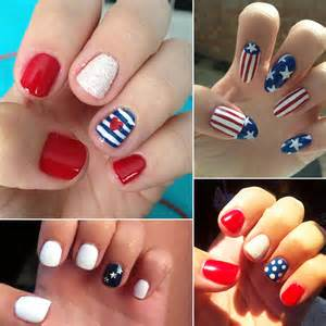Th of july nail designs popsugar beauty