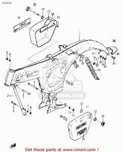 Yamaha Yl1 Twinjet 1966 1967 Usa Frame