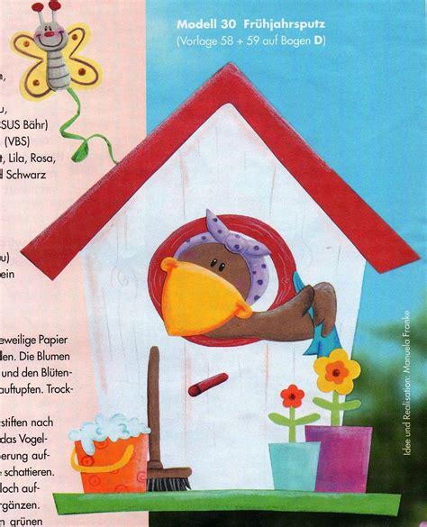 vogelhaus basteln vorlagen vogel traumhaus bausatz aus