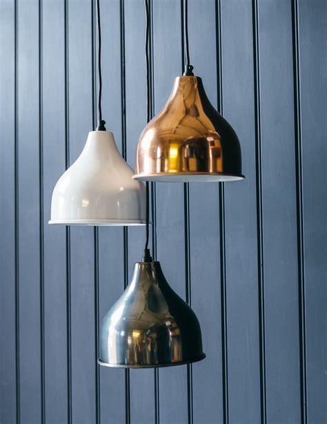 gold pendant light gold white and nickel pendant light