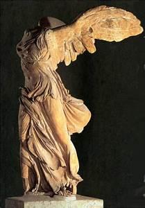 Winged Victory of Samothrace. Hellenistic Greek. c. 190 B ...