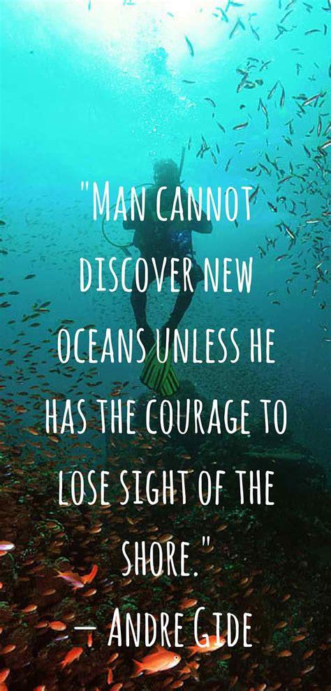 Inspirational Quote Scuba Diving