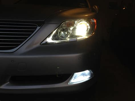 4 led replacement ls led fog and nike 39 s done clublexus lexus forum discussion