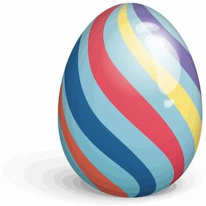 Easter Eggs Stripes Clipart Transparent Egg Clip