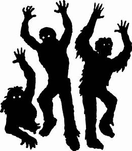 Clipart - Zombies Silhouette