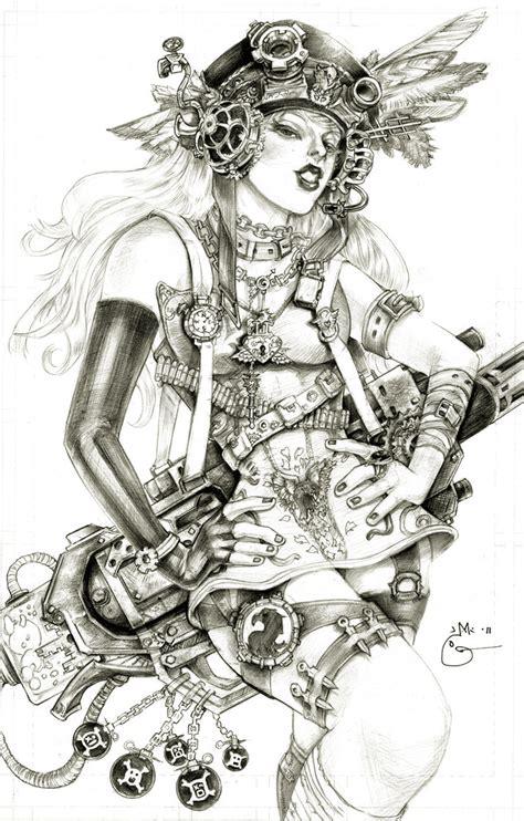 steampunk lady blackhawk zinda blake  dubugomdori