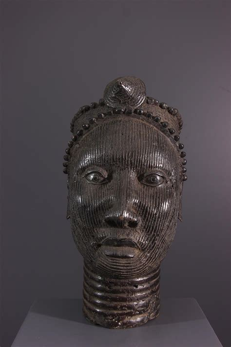 Tête Yoruba (18095) - bronze africain Ife - Art africain ...