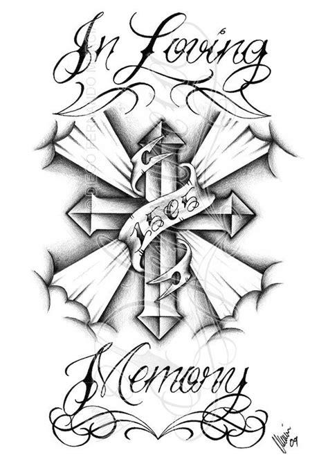 In loving memory cross by dfmurcia on DeviantArt | In loving memory tattoos, Memorial tattoos
