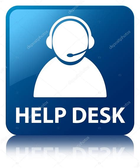 help desk customer service help desk customer care icon glossy blue reflected