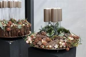 Weihnachtliche Deko Ideen : weihnachtliche gesteck ideen mehr sehen winter pinterest ~ Markanthonyermac.com Haus und Dekorationen