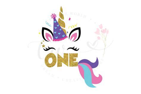 st birthday unicorn svg unicorn birthday girl svg
