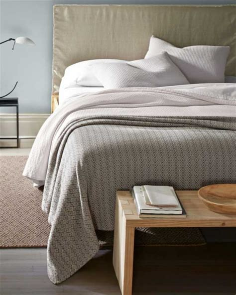 Organic Cotton Coverlet by Eileen Fisher Organic Cotton Coverlet Decoist