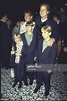 Actor Jeff Daniels and wife Kathleen w. children at film ...