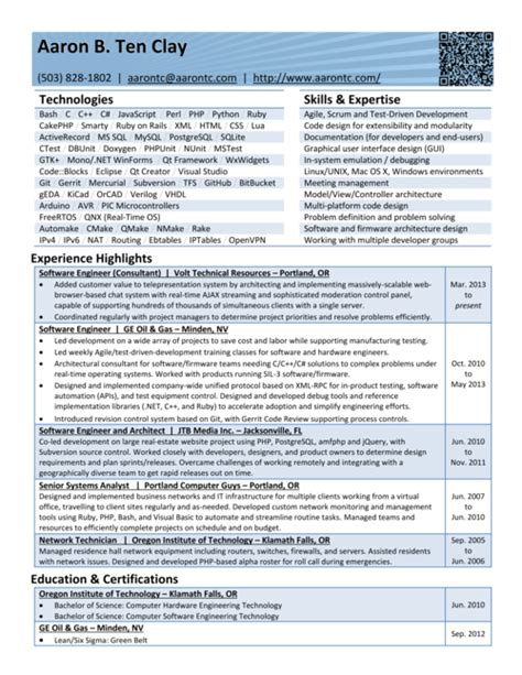 Ruby On Rails Resume Exle by Ruby On Rails Resume 57 Images Essel 39 S Resume Why