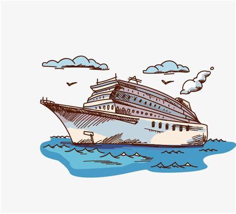 Imagenes De Barcos De Carton by Dibujos Animados De Barco Cartoon Pintado A Mano Barco