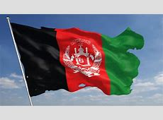Afghanistan Flag Loop 2 Stock Footage Video 1369657