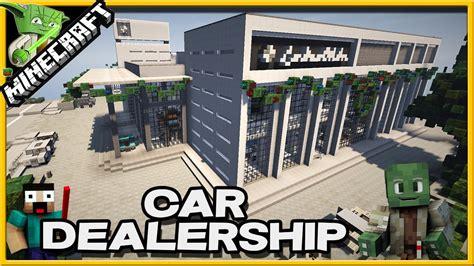 lamborghini dealership minecraft minecraft car dealership showcase youtube