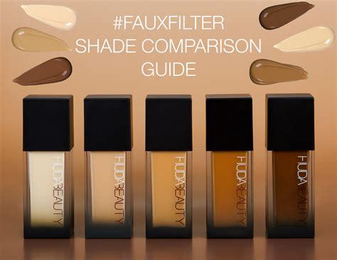 huda beauty fauxfilter foundation