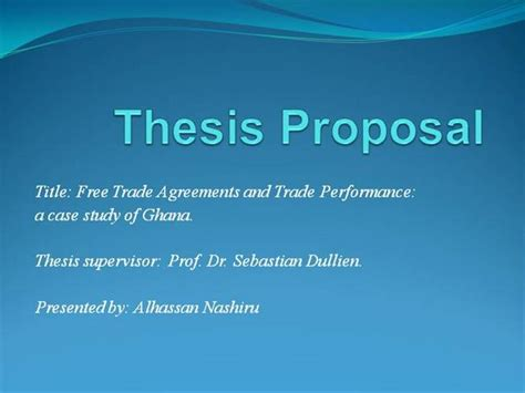 pp thesis proposalnashiru authorstream