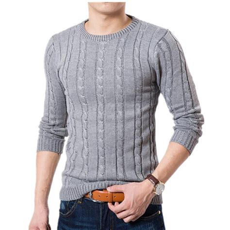 sleeve sweater mens mens sweaters winter color brand sweater