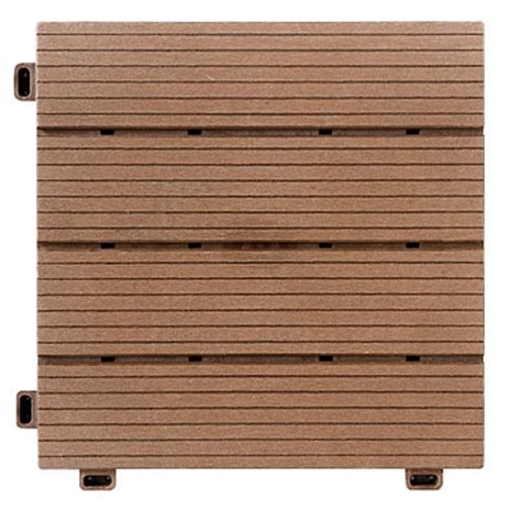 interlocking polywood deck patio tiles 10 pack big lots
