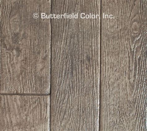 butterfield color  wood planks concrete stamp cascade