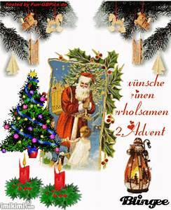 Grüße Zum 2 Advent Lustig : zweiter advent handy bilder gr sse facebook bilder gb ~ Haus.voiturepedia.club Haus und Dekorationen