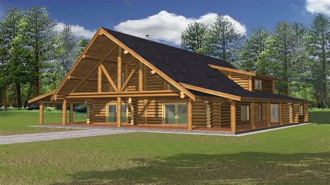 Rustic House Plans With Wrap Around Porches Rustic Log