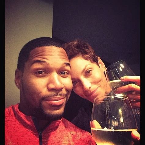 michael strahan split nicole murphy nfl star break