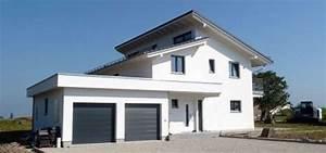 Garage Mit Pultdach : architektenhaus mit versetztem pultdach in onnens my ~ Michelbontemps.com Haus und Dekorationen