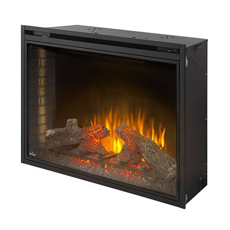 built in electric fireplace napoleon 40 in built in electric fireplace bef40h