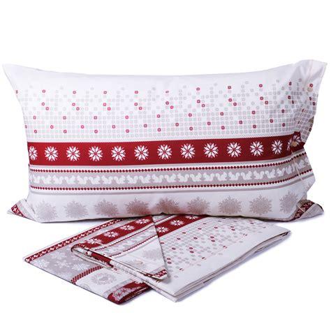 completo lenzuola  puro cotone brunico cose  casa  mondo  accessori  la casa