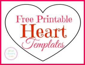 Printable Heart Shapes - Tiny, Small & Medium Outlines