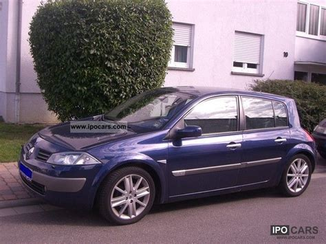 2003 renault megane 1 6 privilege luxe car photo and specs
