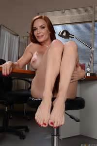 Red Haired Woman Likes Office Sex Photos Diamond Foxxx MILF Fox