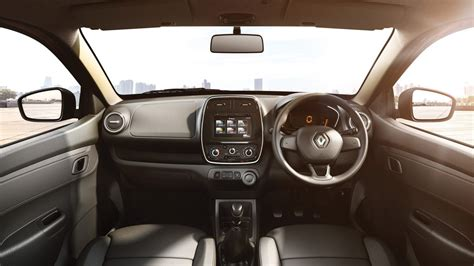 kwid renault interior renault kwid launched in india from rs 2 57 lakh