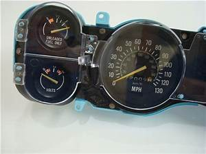1979 Camaro Dash Instrument Cluster Housing Assembly With