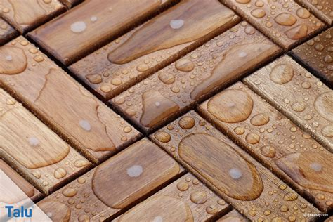 Holzfliesen Für Balkon by Einfach Holzfliesen Verlegen Auf Balkon Und Terrasse Talu
