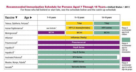 health services immunization information 381 | Immunization Schedule