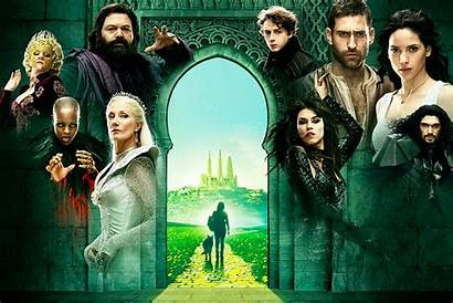 Emerald Oz Trailer Serie Mago Avance Basada