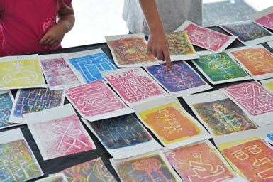 Monotype Printmaking With Kids  Carle Museum